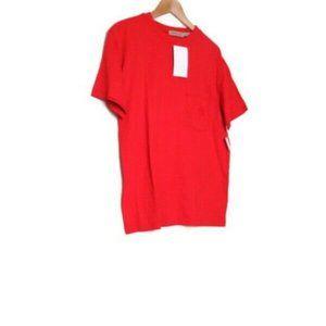 NWT 90s Calvin Klein Sport Red T Shirt L